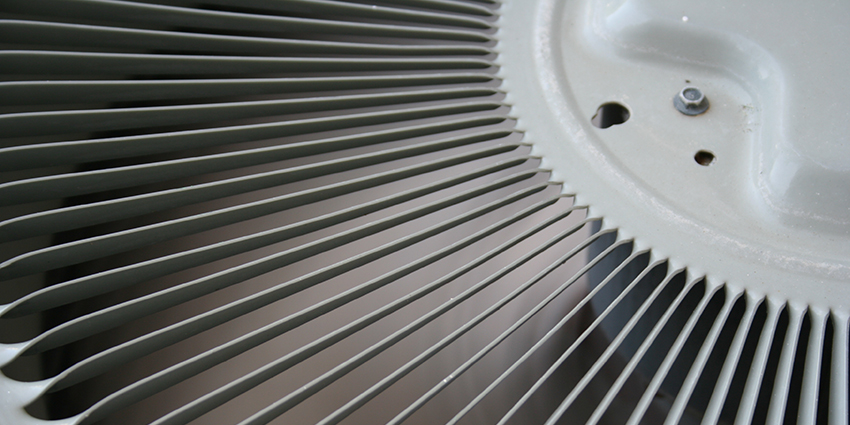 Air Conditioner Close Up Ventilation